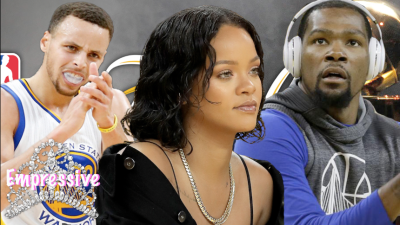 "Steph Curry tells Kevin Durant: ""Rihanna is a trap!"""