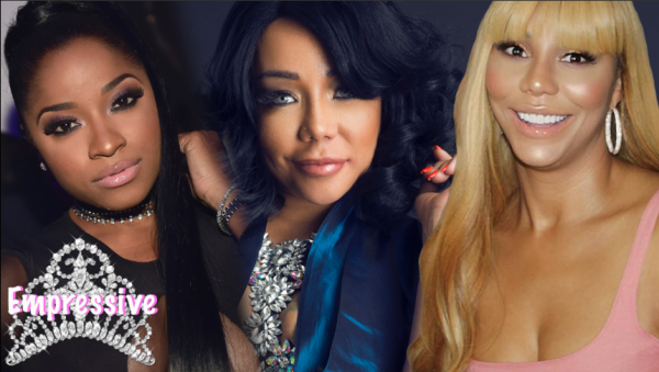Tamar Braxton apologizes to Tiny but shades Toya Wright. TOYA GOES OFF
